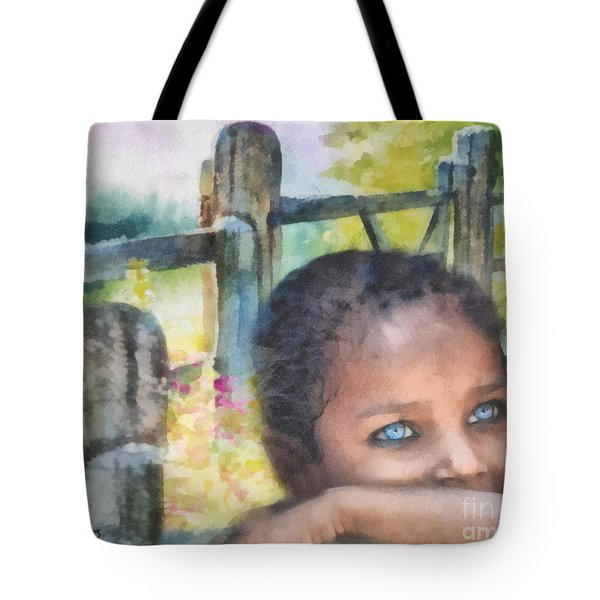 Hope Tote Bag by Mo T