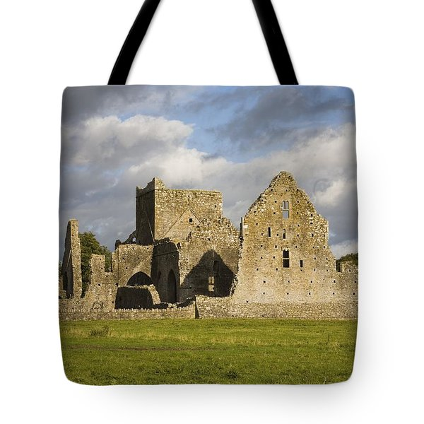 Hore Abbey, Cashel, County Tipperary Tote Bag by Richard Cummins