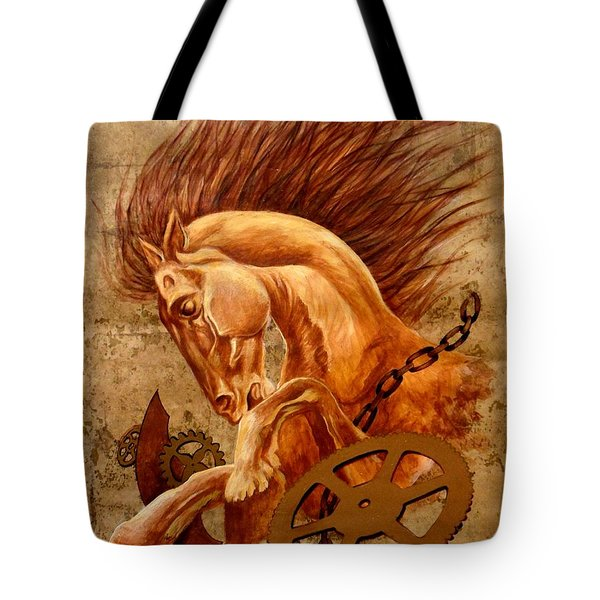 Horse Jewels Tote Bag by Lena Day