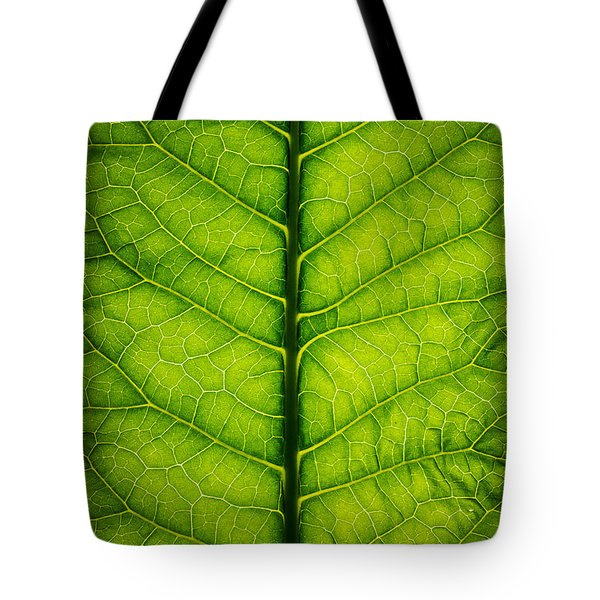 Horseradish Leaf Tote Bag by Steve Gadomski