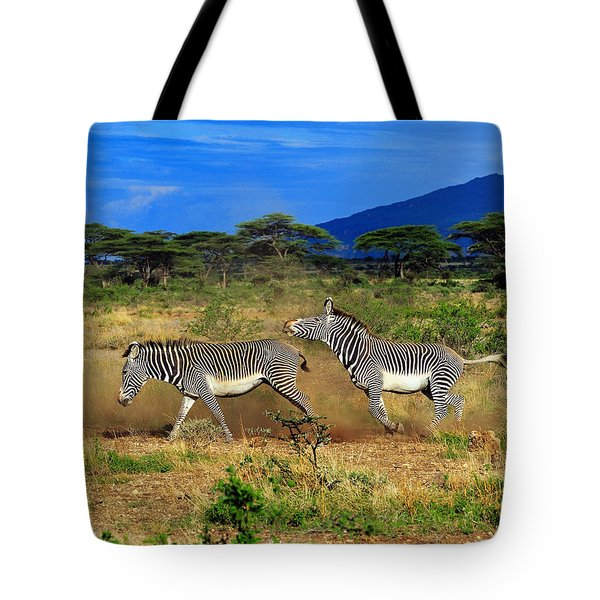 Horsing Around Tote Bag by Tony Beck