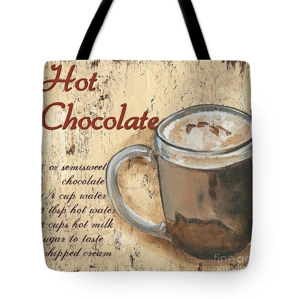 Hot Chocolate Tote Bag by Debbie DeWitt