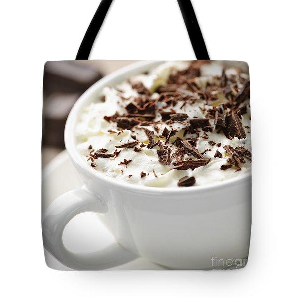 Hot Chocolate Tote Bag by Elena Elisseeva