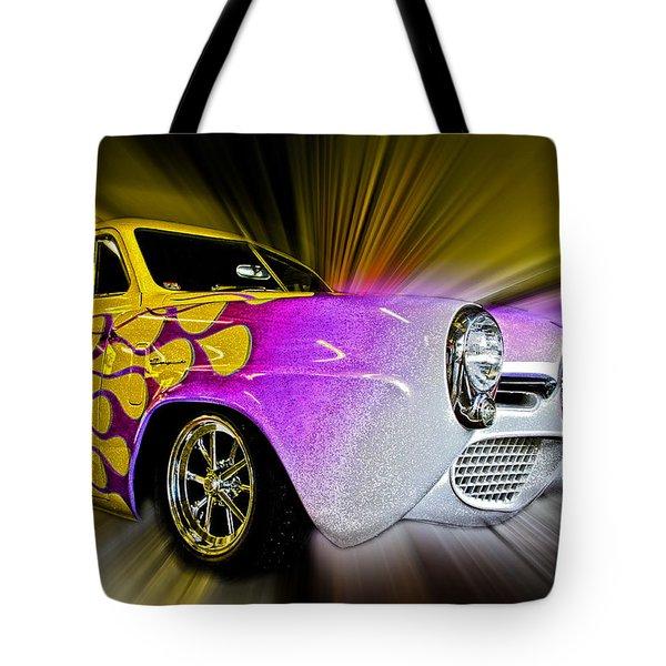 Hot Rod Art Tote Bag by Steve McKinzie