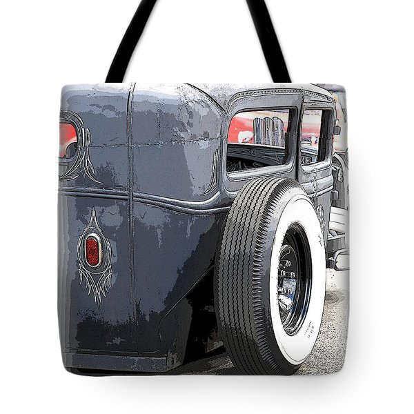 Hot Rods Forever Tote Bag by Steve McKinzie