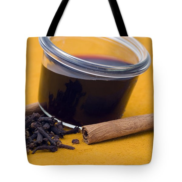 Hot spiced wine Tote Bag by Frank Tschakert