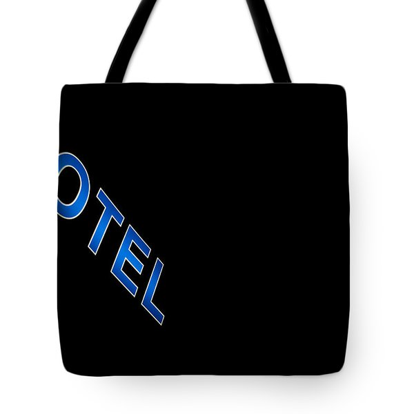 Hotel Tote Bag by Stylianos Kleanthous
