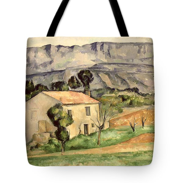 House In Provence Tote Bag by Paul Cezanne