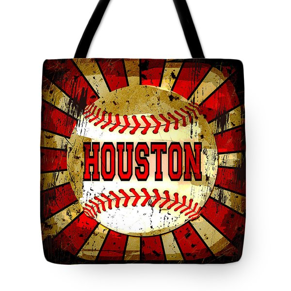 Houston Tote Bag by David G Paul