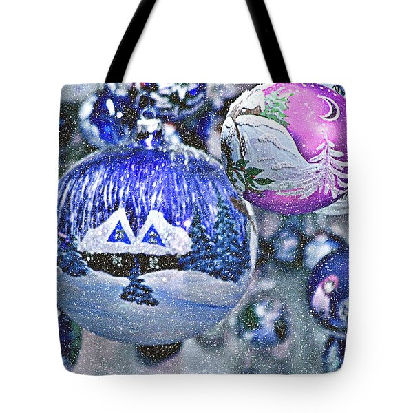 Hung With Love Tote Bag by Christine Till