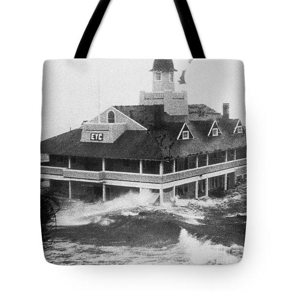 Hurricane Carol Tote Bag by Science Source