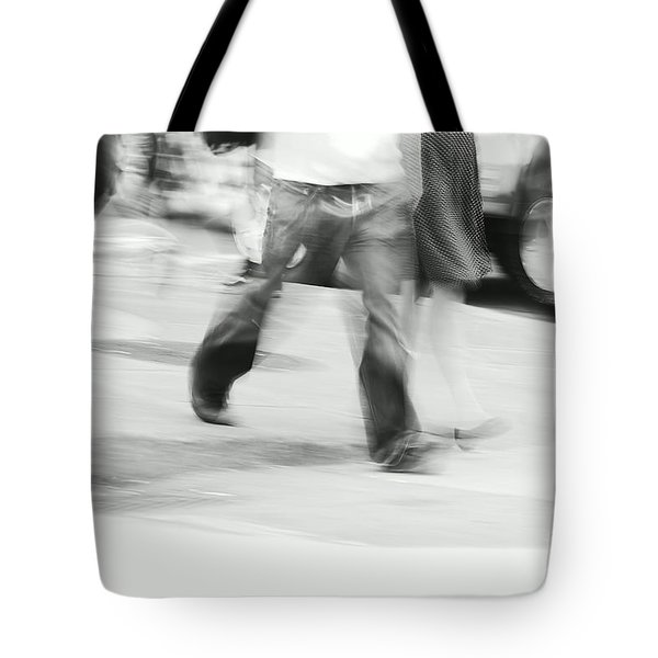 Hurry Up Tote Bag by Aimelle