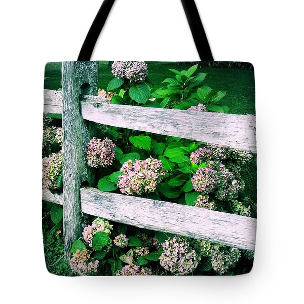 Hydrangeas Tote Bag by JAMART Photography