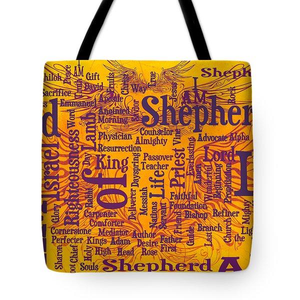 I Am Shepherd 2 Tote Bag by Angelina Vick