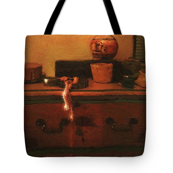 I Do Love Pearls Tote Bag by RC deWinter