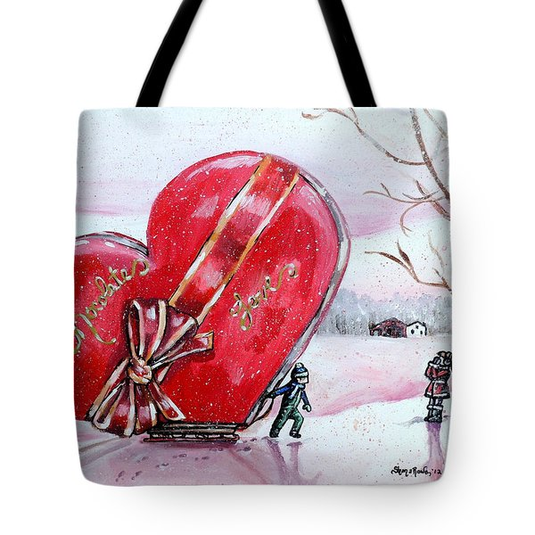 I Love You Thiiis Much Tote Bag by Shana Rowe Jackson