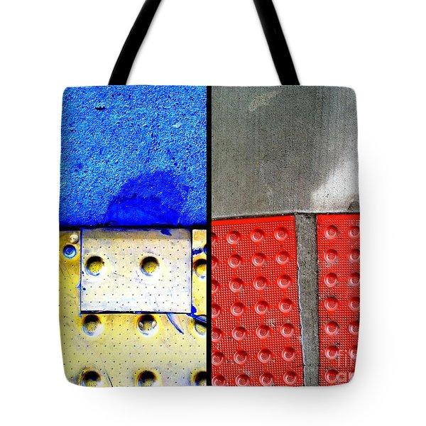 I Luv Hue Four Tote Bag by Marlene Burns