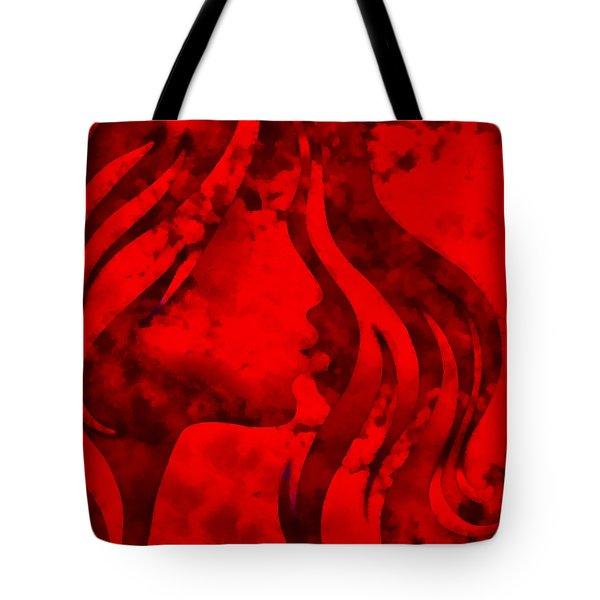 I Should Have Said Goodbye 3 Tote Bag by Angelina Vick