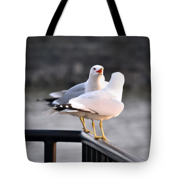 I Told You   Im Tired Of Fish Damnit Tote Bag by Michael Frank Jr