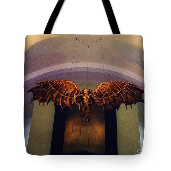Icarus In The Louis Armstrong International Airport In New Orleans Tote Bag by John Malone