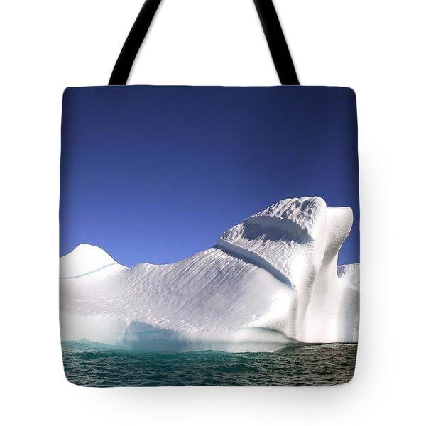 Iceberg In The Canadian Arctic Tote Bag by Richard Wear