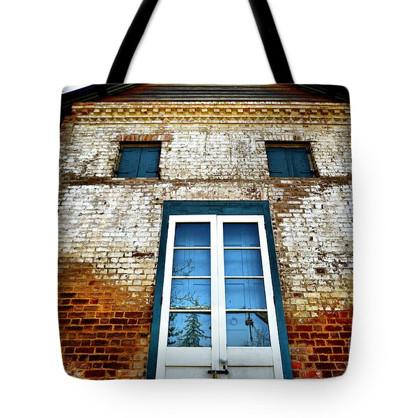 If Bricks Could Talk Tote Bag by Cheryl Young