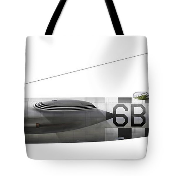 Illustration Of A Martin-b-26 Marauder Tote Bag by Chris Sandham-Bailey
