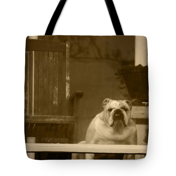 I'm Waiting For You Tote Bag by Kym Backland