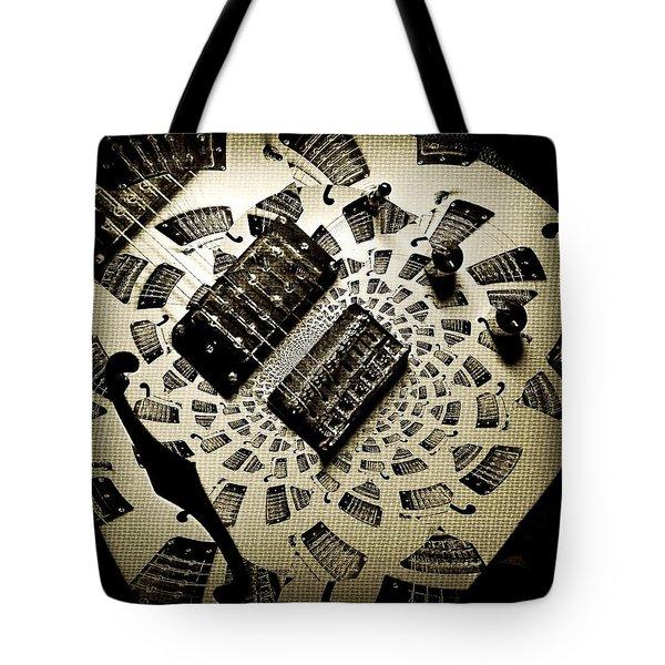 Imaginary Guitar Tote Bag by Chris Berry