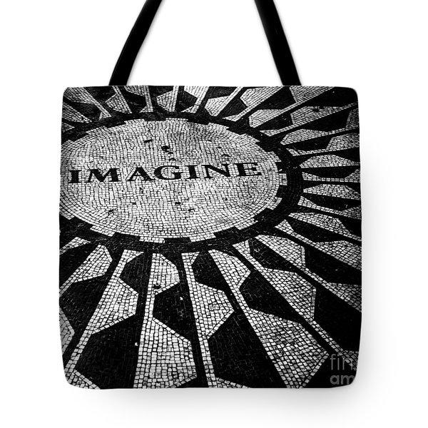 Imagine Tote Bag by Ken Marsh