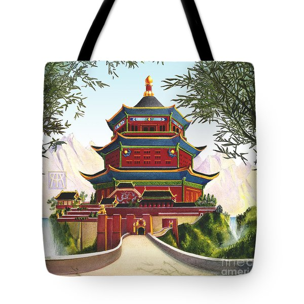 Imperial Palace Tote Bag by Melissa A Benson