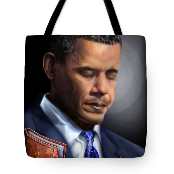 In Jesus Christ Name Tote Bag by Reggie Duffie