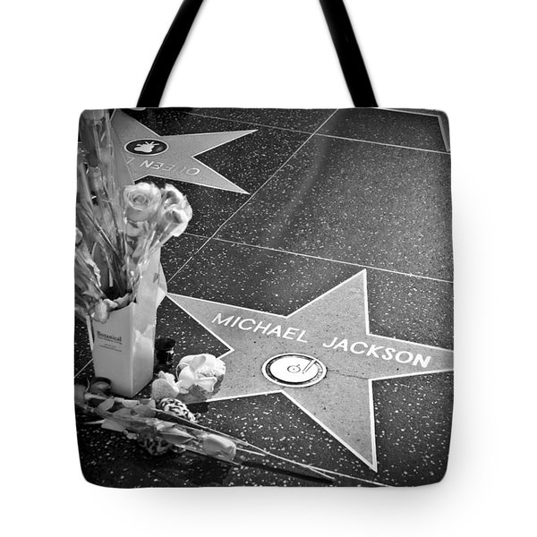 in memoriam Michael Jackson Tote Bag by Ralf Kaiser