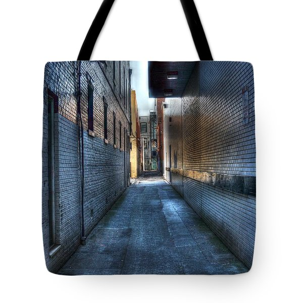 In The Alley Tote Bag by Dan Stone