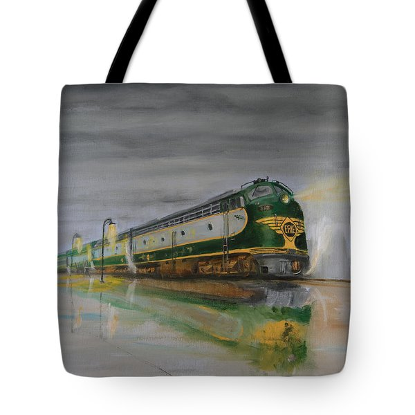 In The Cold Mist Tote Bag by Christopher Jenkins