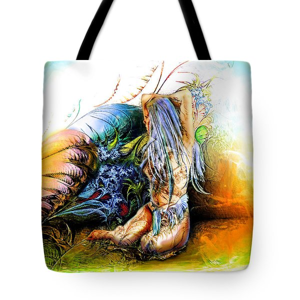 In The Garden Tote Bag by ADAM VANCE