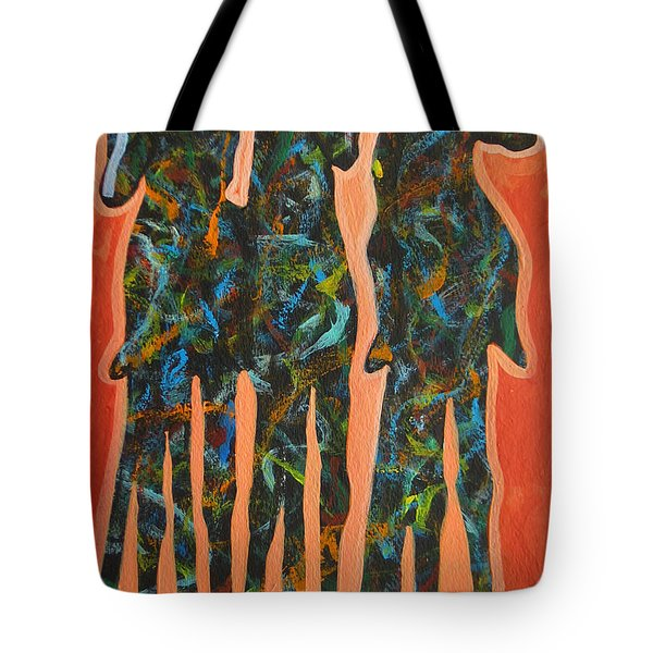 In The Orange Tote Bag by Lance Headlee