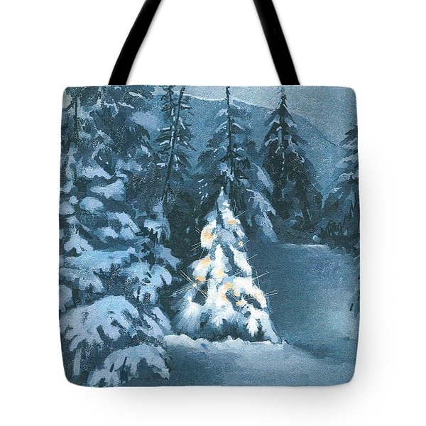 In The Spotlight Tote Bag by Arline Wagner