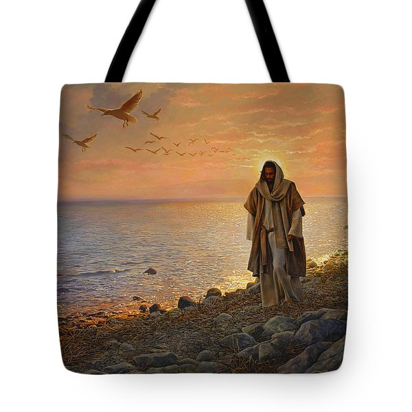 In the World Not of the World Tote Bag by Greg Olsen