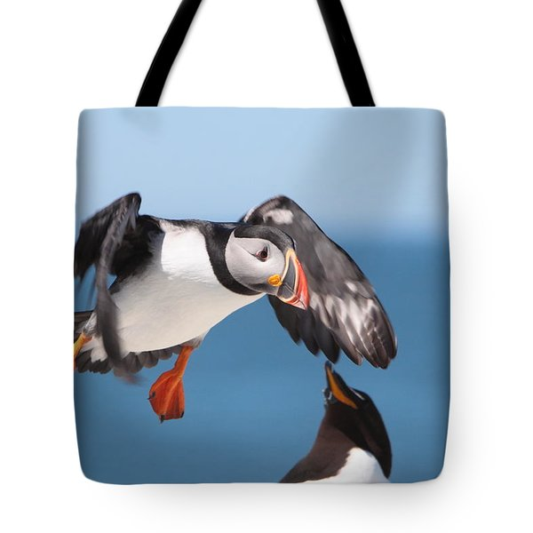 Incoming  Tote Bag by Bruce J Robinson
