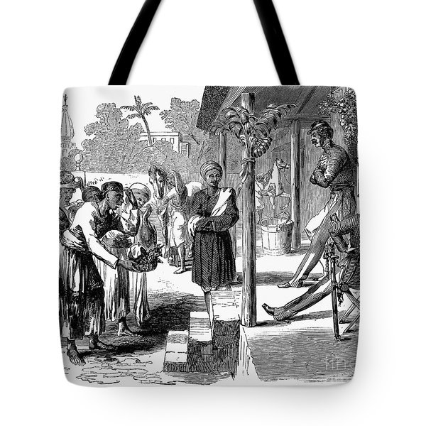 India: New Years Day, 1859 Tote Bag by Granger