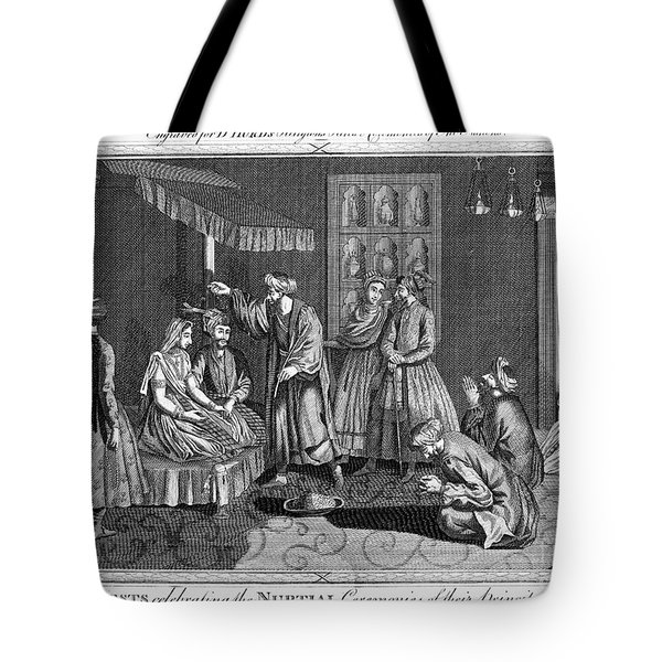 India: Wedding, 1780s Tote Bag by Granger