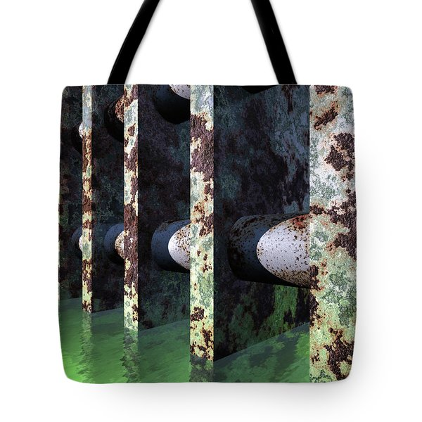 Industrial Disease Tote Bag by Richard Rizzo