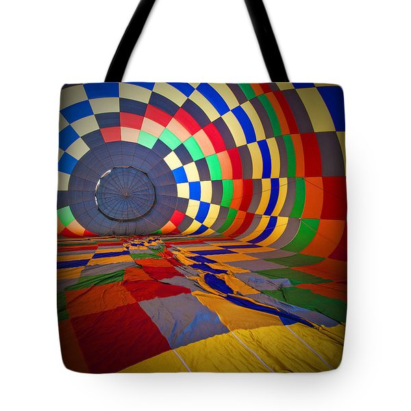Inflating Tote Bag by Rick Berk