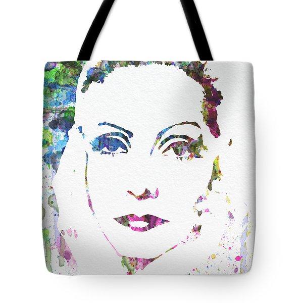 Ingrid Bergman  Tote Bag by Naxart Studio