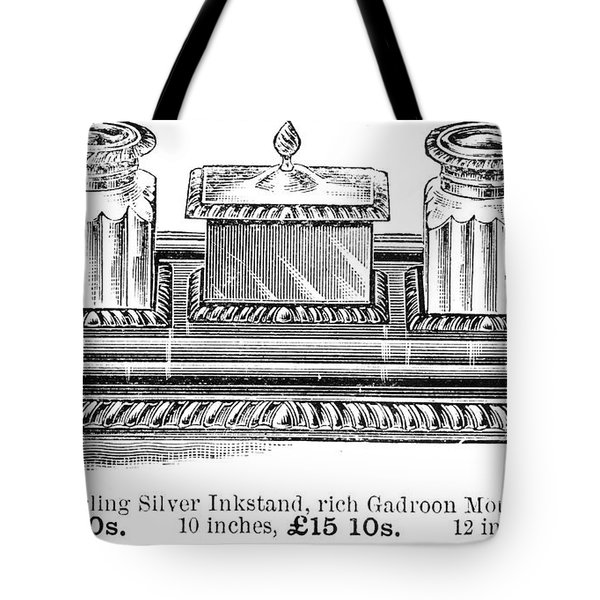 Inkstand, 19th Century Tote Bag by Granger