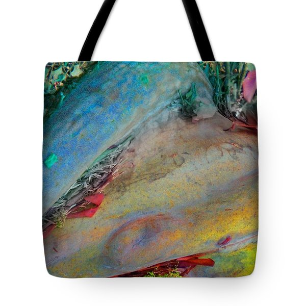 Tote Bag featuring the digital art Inner Peace by Richard Laeton