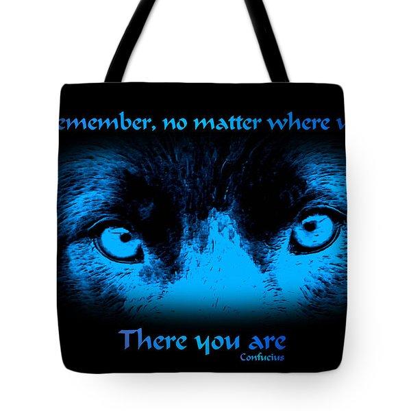 Inner Self Tote Bag by Smilin Eyes  Treasures