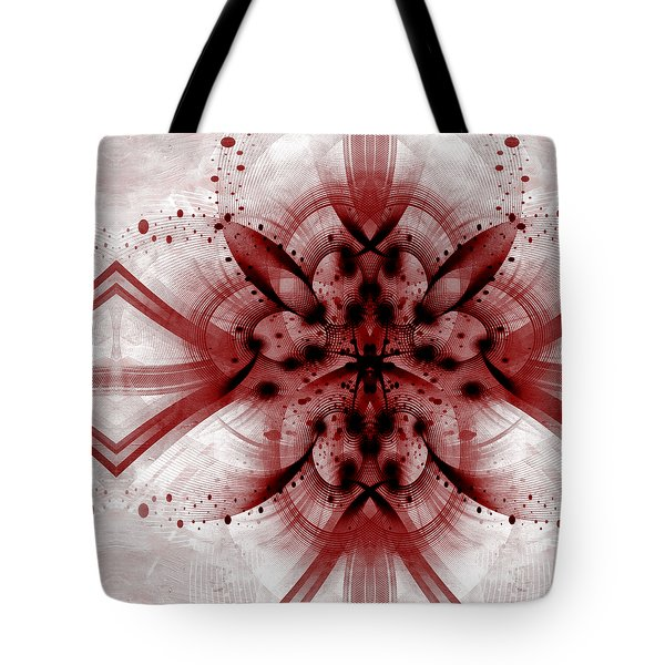 Intelligent Design 1 Tote Bag by Angelina Vick