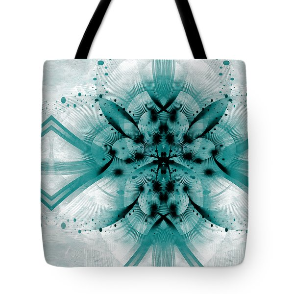 Intelligent Design 2 Tote Bag by Angelina Vick
